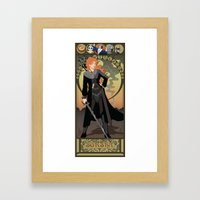 Sorsha Nouveau - Willow Framed Art Print