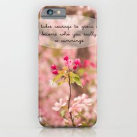 Courage In Growth - Ee C… iPhone 6 Slim Case