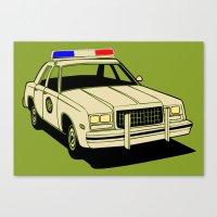 Cop Canvas Print