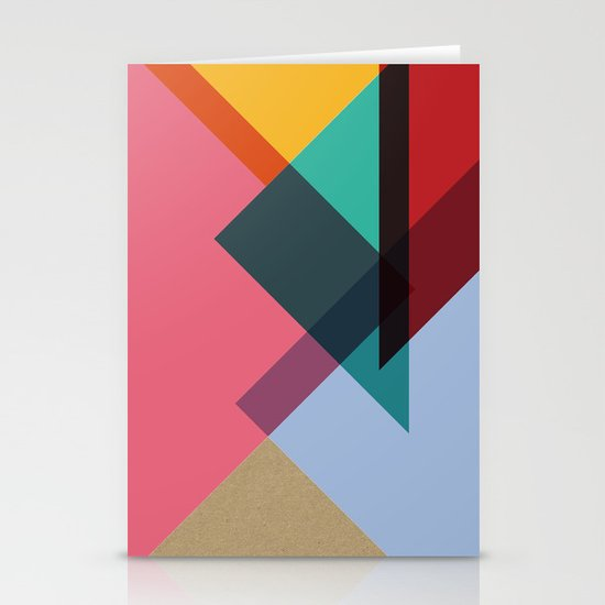 Triangles (Part 2) Stationery Card