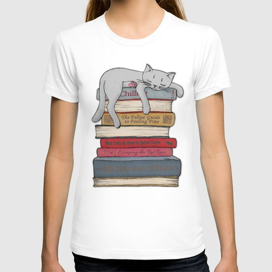How to Chill Like a Cat T-shirt