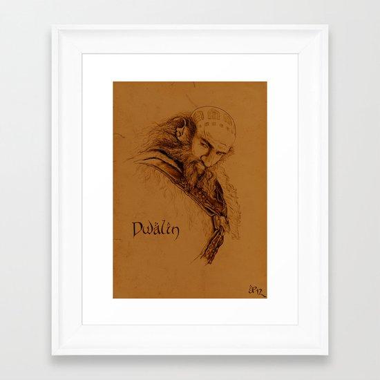 Dwalin the Dwarf Framed Art Print