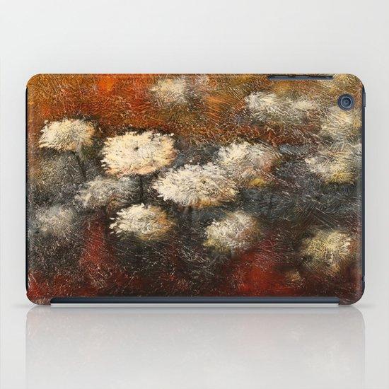 Golden Blossoms iPad Case