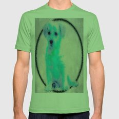 SLUSH Mens Fitted Tee Grass SMALL