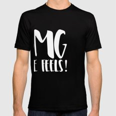 OMG the feels! - Inverted Black Mens Fitted Tee SMALL