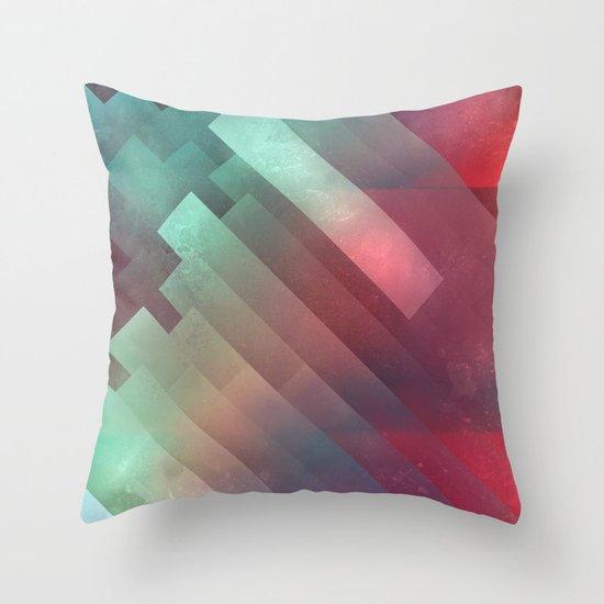 glyxx cyxxkyde Throw Pillow