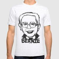 Bernie Sanders 2016 Mens Fitted Tee Ash Grey SMALL