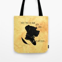 Those That Lie Down With… Tote Bag