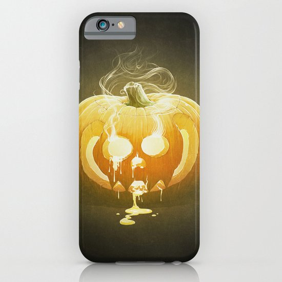 Pumpkin II. iPhone & iPod Case