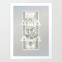 DYNAMITE MONEY Art Print