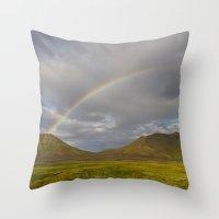 ICELAND III Throw Pillow