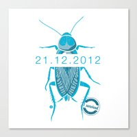 21.12.2012 - I survived Canvas Print