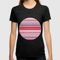 Eastern Lines Womens Fitted Tee Tri-Black SMALL