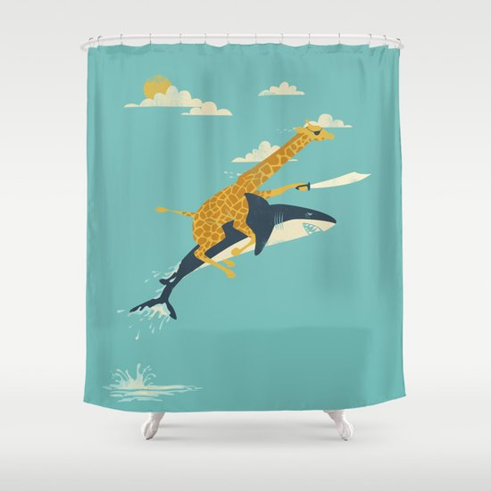Onward! Shower Curtain