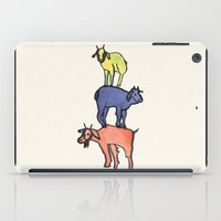 3 Billy Goats Up iPad Case