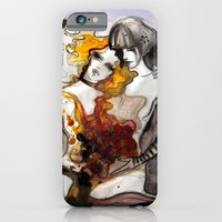 iPhone & iPod Case featuring Letter 3: equally centered by Dnzsea