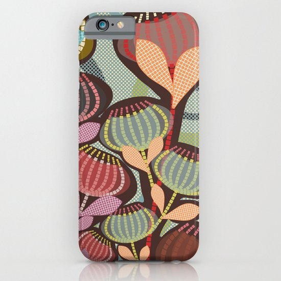 Dashed Blossoms iPhone & iPod Case