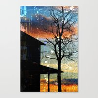 Winter Electric Canvas Print