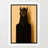 (II) Art Print