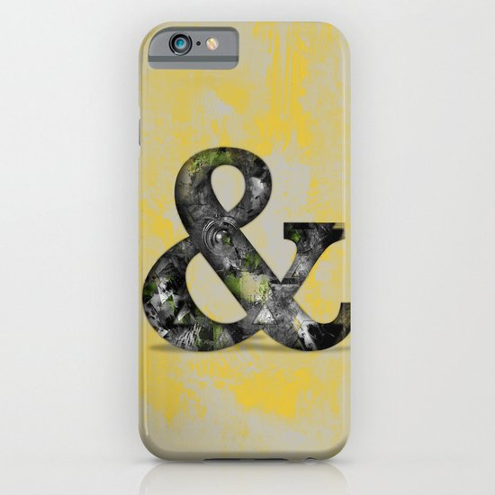 Ampersand Series - Baskerville Typeface iPhone & iPod Case