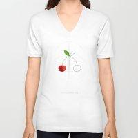 HALF (cherry) LIFE Unisex V-Neck