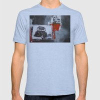 Bigfoot Mens Fitted Tee Athletic Blue SMALL