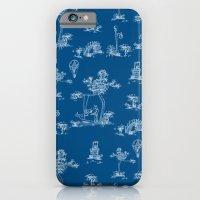 Toile Blue Unicorn iPhone 6 Slim Case