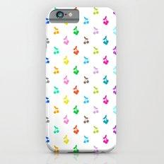 Rainbow cherries Slim Case iPhone 6s