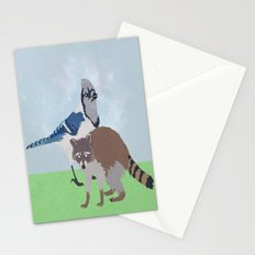 Mordecai and Rigby Stationery Cards