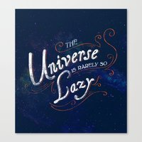 What do we say about coincidence? Canvas Print