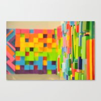 Wall Scape Canvas Print