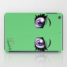 Parenthesis Humor Eyes iPad Case