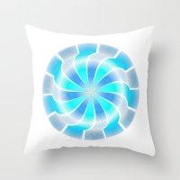 Circle Study No. 312 Throw Pillow