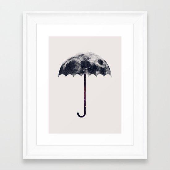 Space Umbrella II Framed Art Print