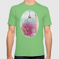 DREAMING OF SAN MARCO Mens Fitted Tee Grass SMALL