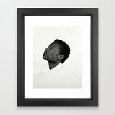 Saudade / Longing Framed Art Print