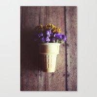 Flower Cone III Canvas Print