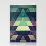 Stationery Cards featuring Dysty_symmytry by Spires