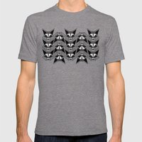 Gaze Mens Fitted Tee Tri-Grey SMALL