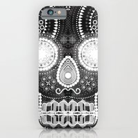 Black Skull iPhone 6 Slim Case