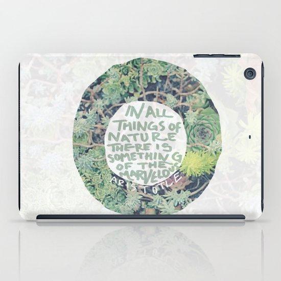 Aristotle: Nature iPad Case