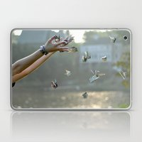 Paper Cranes Laptop & iPad Skin