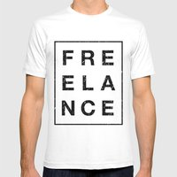 It Ain't Free Mens Fitted Tee White SMALL