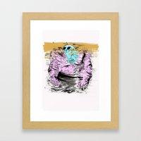 Muscle Framed Art Print