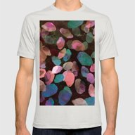 Galactic Gems  Mens Fitted Tee Silver SMALL