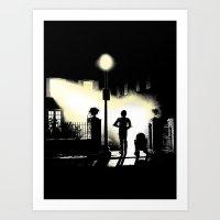 The droids (clean) Art Print