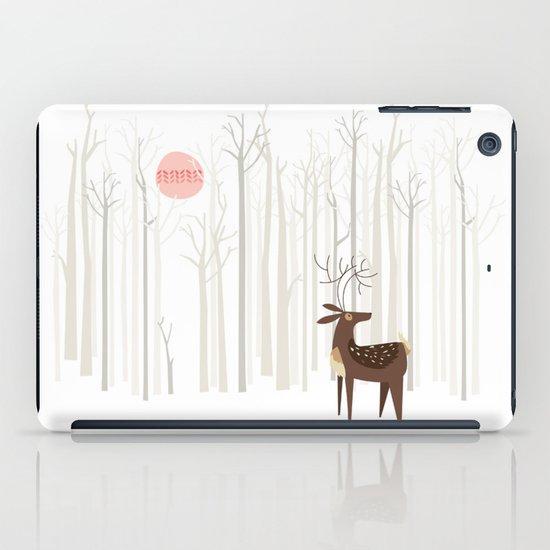 Reindeer of the Silver Wood iPad Case