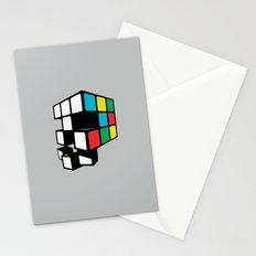 Rubix Skull Stationery Cards