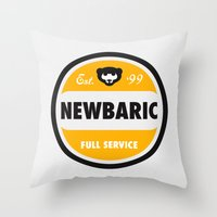 NEWBARIC SINCE '99 Throw Pillow