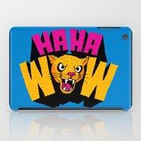 HAHA WOW COUGAR iPad Case